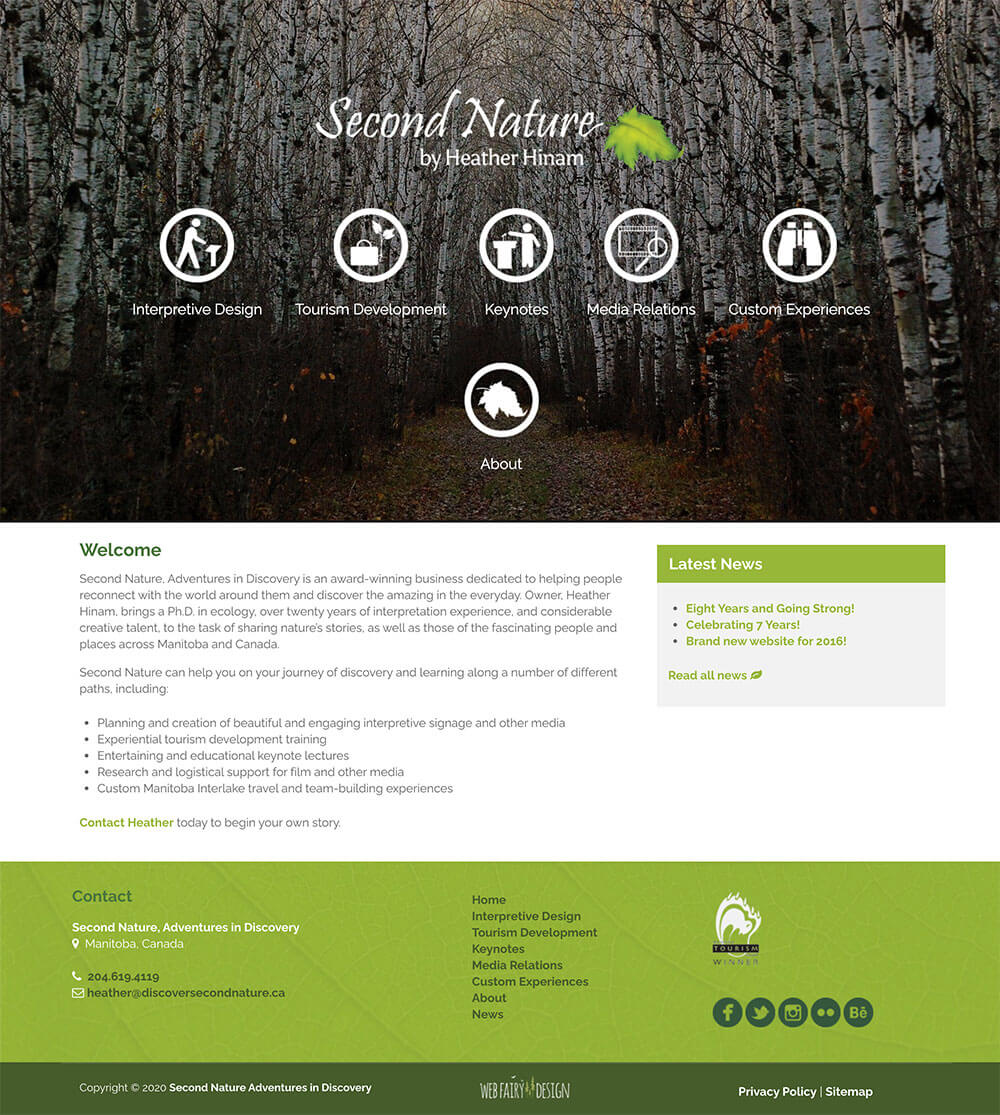 Second Nature Website